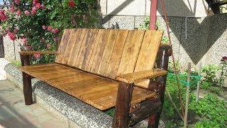 Скамейка своими руками из дерева / Просто и Недорого