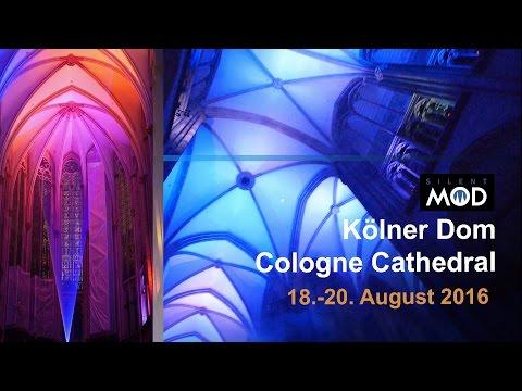 SilentMOD Blank + Jones - Kölner Dom Cologne Cathedral Gamescom Laser Lumix GX80 GX85 GH3