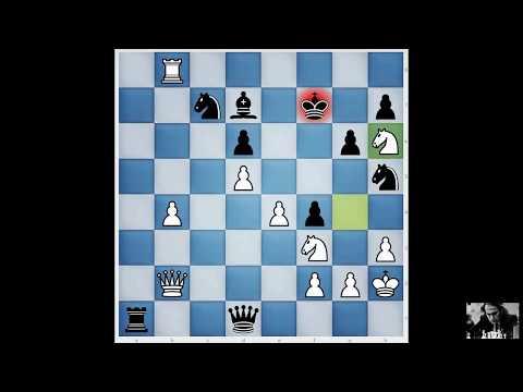 Brilliancy prize: Mikhail Tal - Johann Hjartarson (Reykjavik 1987) 1-0