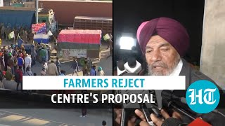 Farmers reject Centre's proposal to put three laws on hold for 1.5 years | Watch