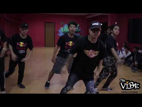 Sushant choreography at Vibe Dance Studio # Vibe DNF#