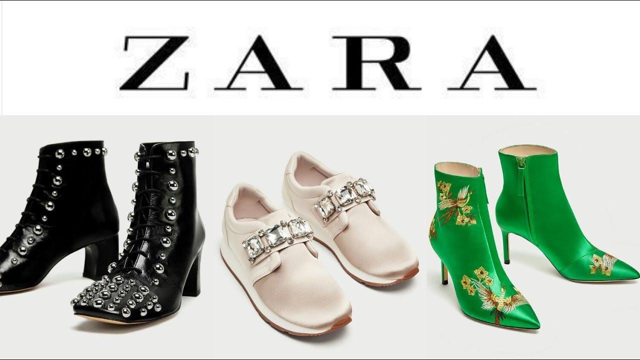 9cb8dee3600 ZAPATOS de moda ZARA MUJER nueva colección OTOÑO INVIERNO 2017 2018 ...