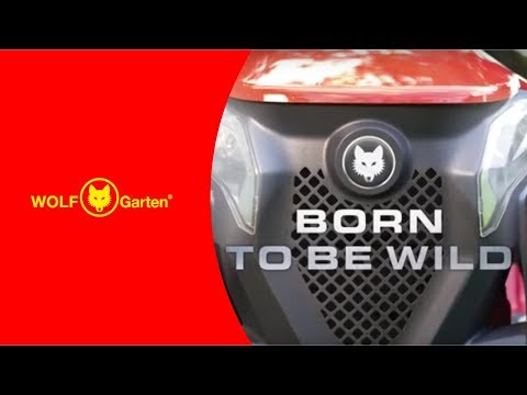 Traktory Ogrodowe Wolf Garten Alpha Youtube