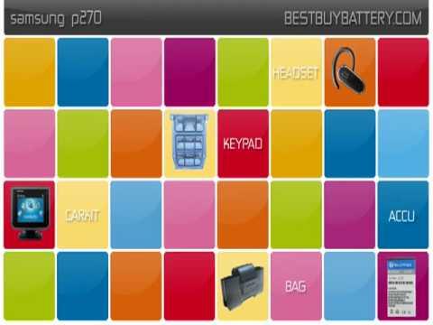 Samsung p270 www.bestbuybattery.com