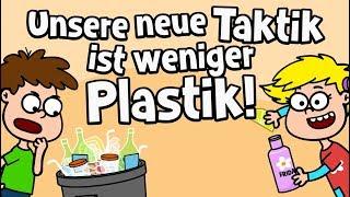 ♪ ♪ Kinderlied Umweltschutz - Unsere neue Taktik ist weniger Plastik - Hurra Kinderlieder
