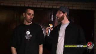 DJ Eclipse (of Non Phixion) - Interview Pt. 1 - 5/8/08