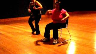 Seated (chair) Zumba - Follow  the Leader - Wisin y Yandel ft. Jennifer Lopez