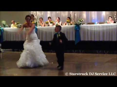 Awesome Video of the Bride Dancing With Her New Step-son at the Wedding.