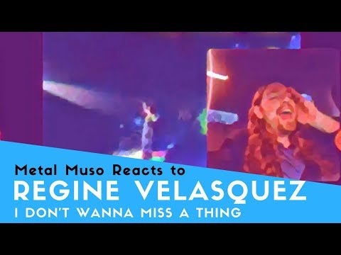 VOCAL COACH REACTS TO REGINE VELASQUEZ I DON'T WANNA MISS A THING - Ghetto Mobile Edition