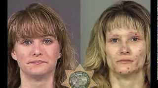 Faces of Meth:  Shocking mugshot photos show toll of drugs and alcohol on US criminals