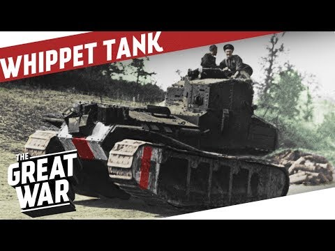 Inside the Medium Mark A 'Whippet' Tank I THE GREAT WAR On The Road