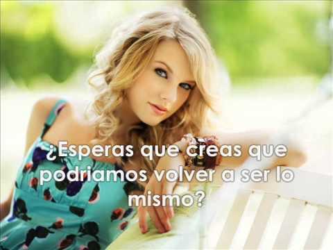 Taylor Swift-Should`ve Said No (Traducida al Español)