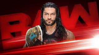 Roman Reigns to defend the Intercontinental Title tonight on Raw: Exclusive, Dec. 4, 2017