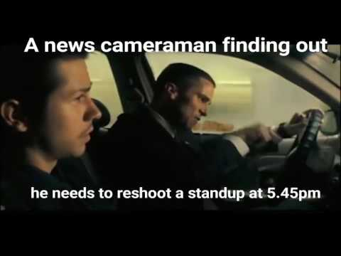 News Cameraman reacts to a Standup reshoot.