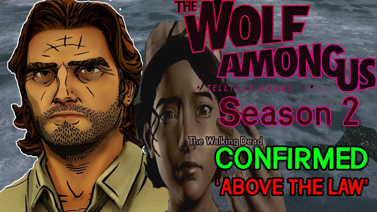 WOLF AMONG US SEASON 2? + THE WALKING DEAD Season 3 ...