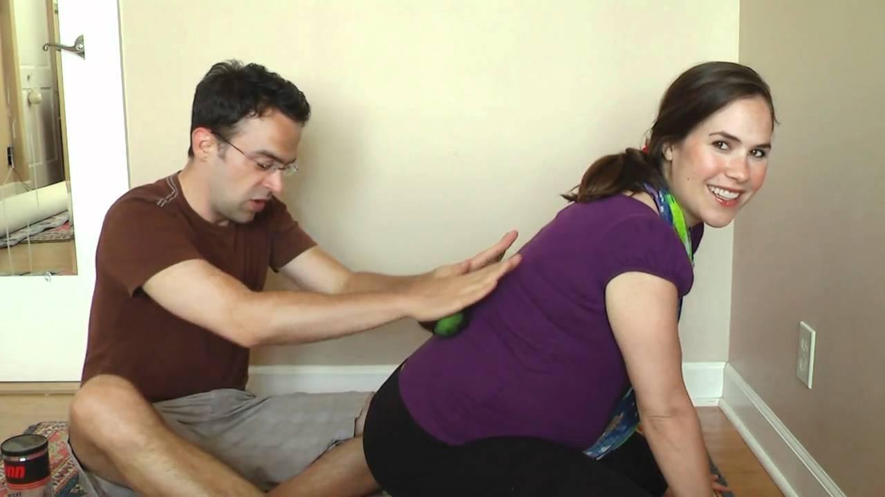 amazing back massager for pregnant women - youtube