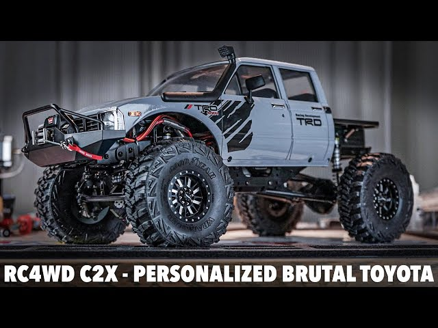 DECKED OUT! RC4WD C2X personalized