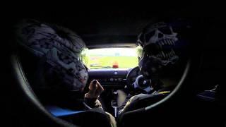 VX220 SC Snetterton 22nd September 2014 oooops off at hamilton