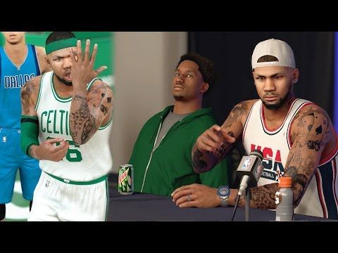 NBA 2k17 MyCAREER - Michael Jordan Comparison's! Press Conference With Denver! Ep. 28