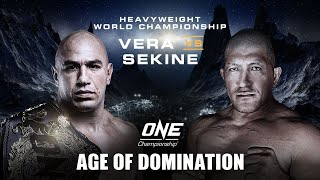 ONE Championship: AGE OF DOMINATION | ONE@Home Event Replay