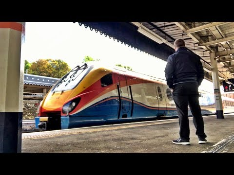 FIRST CLASS, Sheffield to London St Pancras International with East Midlands Trains