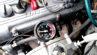 давление масла змз-405(проверка мех.датчиком)