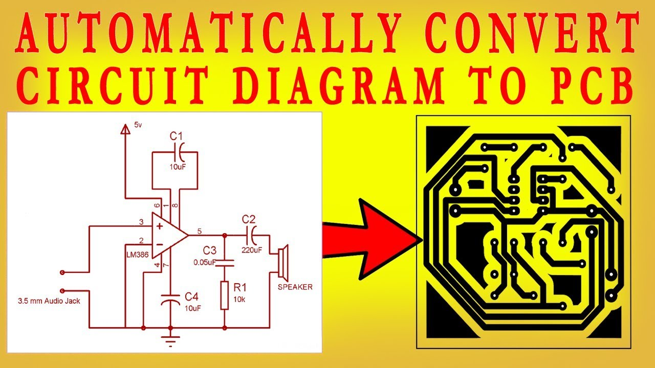 how to convert circuit diagram to pcb layout step by step extension board wiring  [ 1280 x 720 Pixel ]