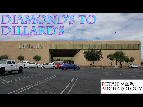 Diamond's To Dillard's | A Dillard's Department Store Stuck In The 80s! | Retail Archaeology