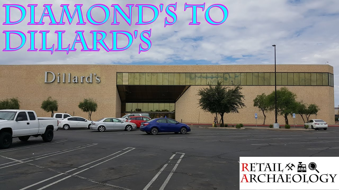 dillards department store history