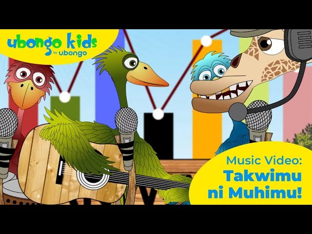 Takwimu ni Muhimu | MUSIC VIDEO | Nyimbo za Ubongo Kids