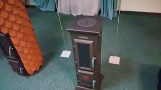 видео Где купить печь камин термофор