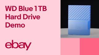 WD My Passport 1 TB Hard Drive - Blue | eBay Top Products