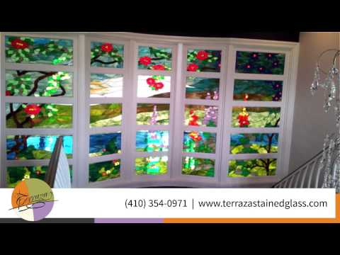 Terraza Stained Glass Arts Crafts In Baltimore Youtube