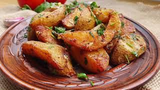 CARTOFI TARANESTI la CUPTOR Вкусно КАРТОФЕЛЬ по деревенски Рецепт Картошка запеченная в духовке