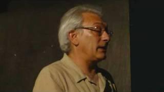 Serge Avédikian avant la projection de Chienne d'histoire..wmv