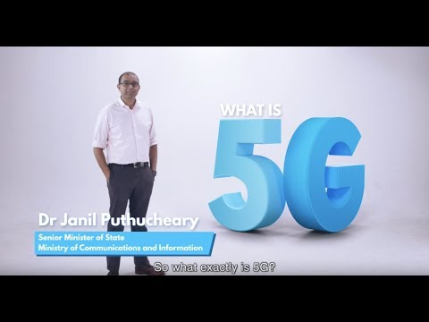 What is 5G? | SMS Janil Puthucheary
