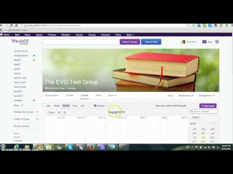 Tutorial of Yahoo Groups