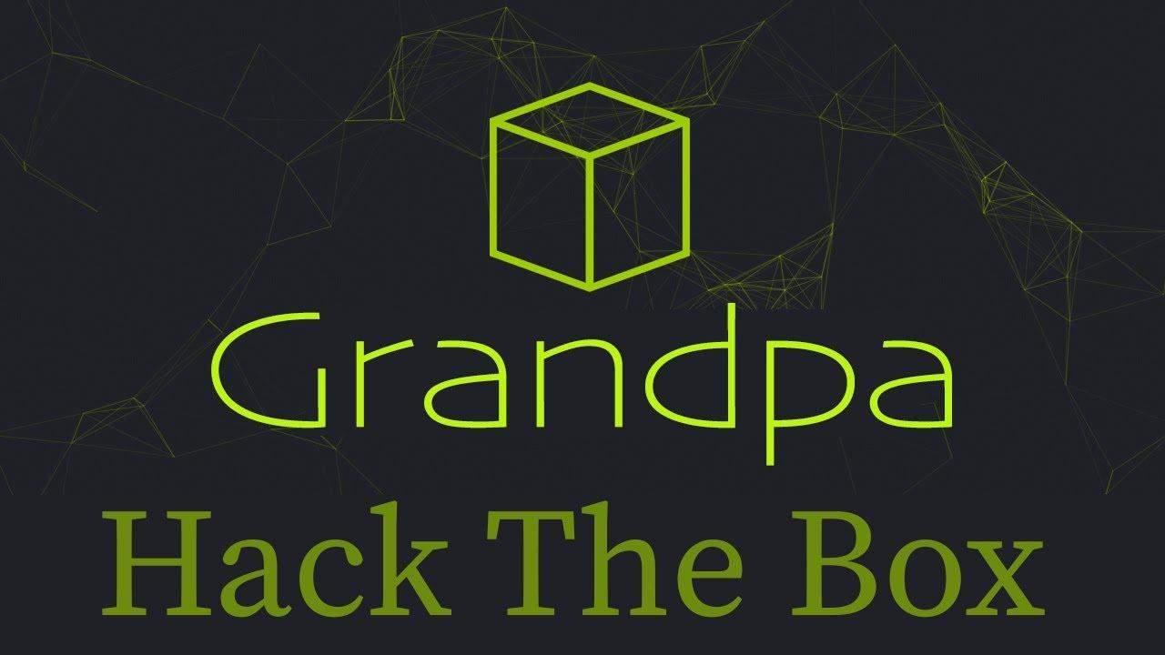 Grandpa - Hack The Box