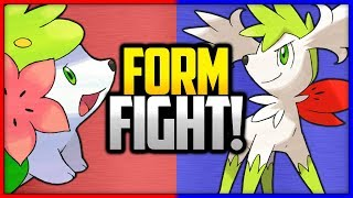 Shaymin: Land vs Sky | Pokémon Form Fight (Mythical)