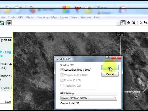 Using www.geocaching.com to Download Geocaches to Your GPS