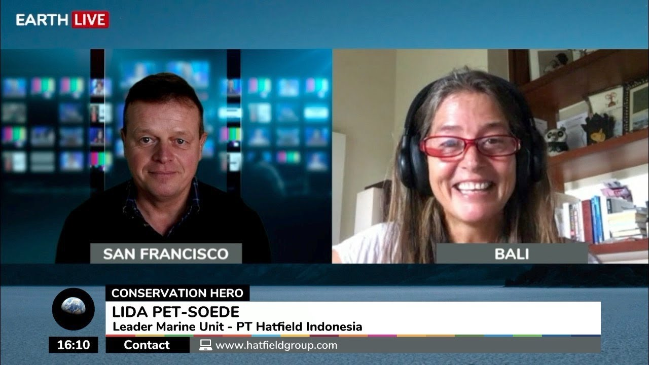 Lida Pet-Soede, Marine Leader, PT Hatfield Indonesia