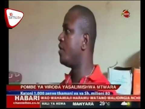 Wafanyabiashara Wasalimisha Viroba Polisi