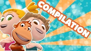 Kukuli – Cup Song & Cartoons Compilation for Kids | Babies and Toddlers