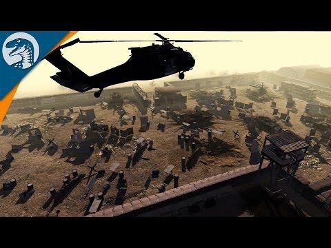 US DEFENDS AFGAN BASE   WW3 MOD   Men of War: Assault Squad 2 [MOD]