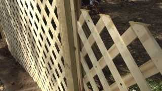 "Housesmarts Diy Smarts ""trellis Fence"" Episode 122"