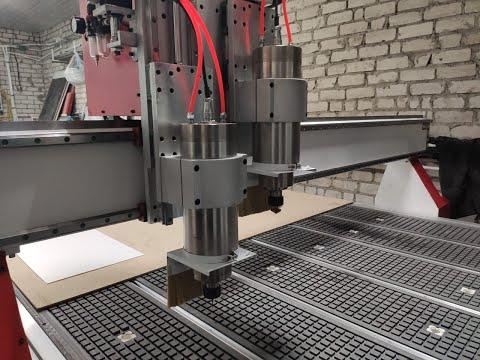 Фрезерный станок с ЧПУ для обработки пластиков с автосменой  купить недорого  г  Брянск