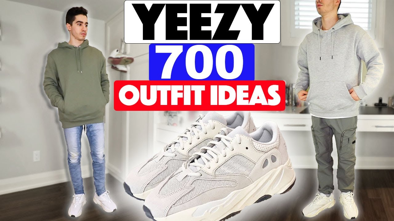 How to Style: Yeezy 700 (3 Outfits