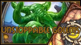 Hearthstone: Unstoppable golems (jade druid)