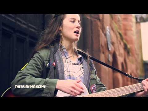 Izzie - I Don't Know // The Busking Scene