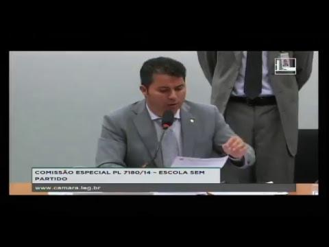 PL 7180/14 - ESCOLA SEM PARTIDO - Reunião Deliberativa - 04/04/2017 - 15:51